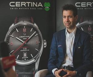 Часы от компании Certina в честь Бьерндалена